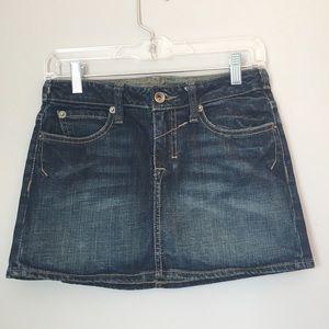 Arden B Denim Mini Skirt Size 2